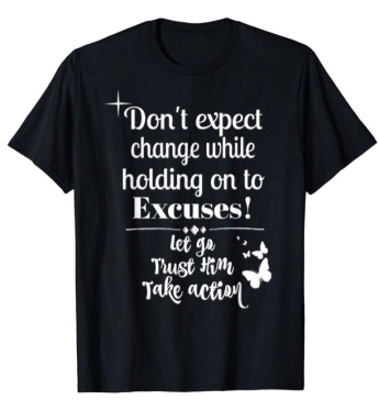1. Don't Expect Change